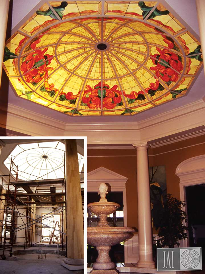 Palmer Residence - Stained Glass Dome