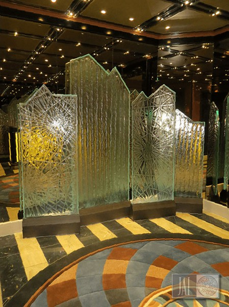 Royal Princess Cast Glass Screen