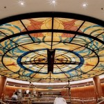 ocean princess atruim ceiling dome