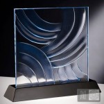 cast glass sample-strokes